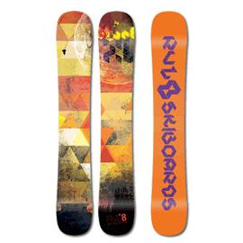 Rvl8 Rockered Blunt XL 100cm Skiboards 2017