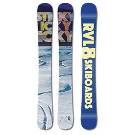 Skiboardy Rvl8 Sticky Icky Icky 104cm 2018