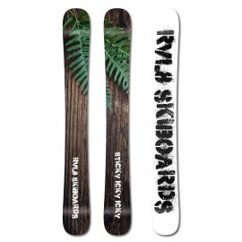Rvl8 Cambered/Rockered Sticky Icky Icky 104cm Skiboards 2017