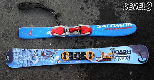 snowblade vs skiboard