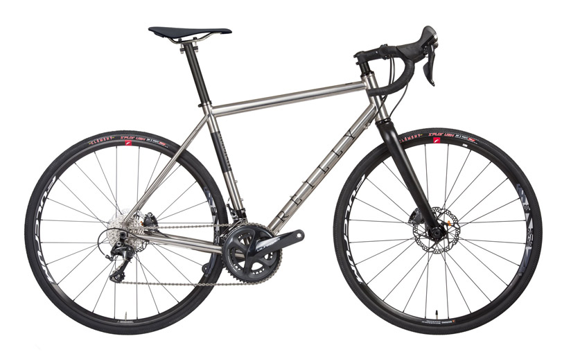 Reilly Gradient titanium gravel bike