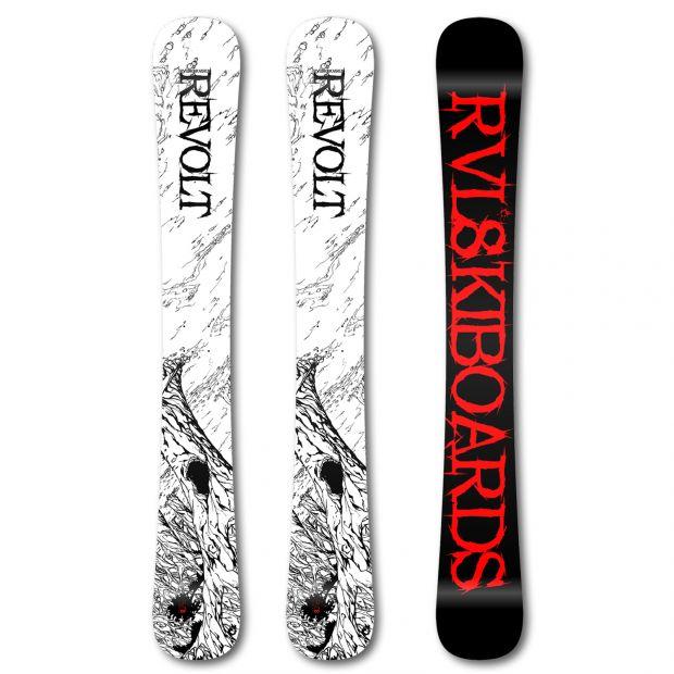Skiboardy Rvl8 Revolt Trees 105cm 2019