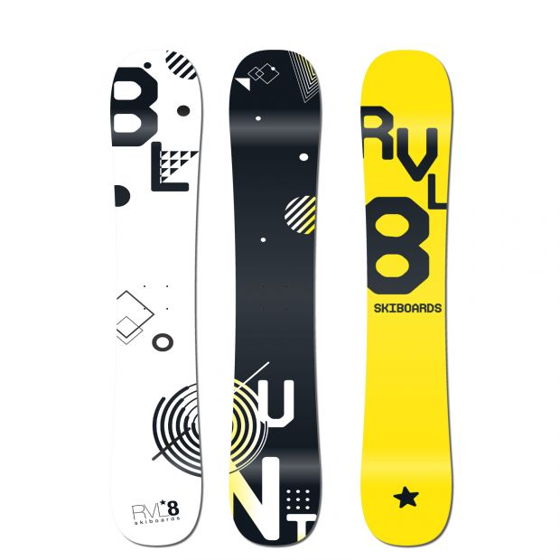 Rvl8 Blunt 88cm Rockered Skiboards 2019