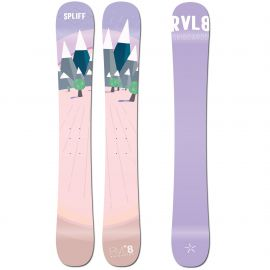 Rvl8 Cambered/Rockered Spliff 109cm Skiboards 2020