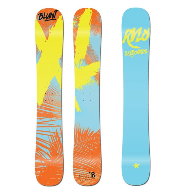 Rvl8 Rockered Blunt XL 100cm Skiboards 2020