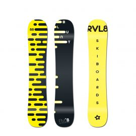 Rvl8 Blunt 88cm Rockered Skiboards 2020