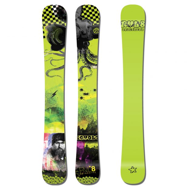 Skiboardy Rvl8 Revolt Stuff & Things 105cm 2020