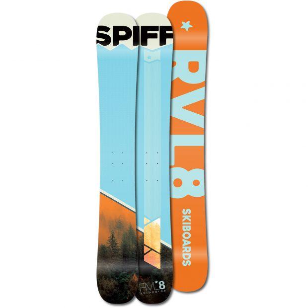 Rvl8 Cambered/Rockered Spliff 109cm Skiboards 2021