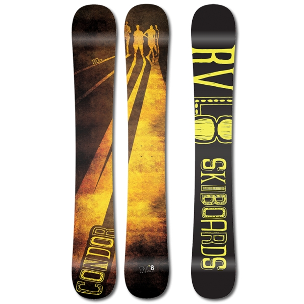 Rvl8 Condor 110cm Skiboards 2014