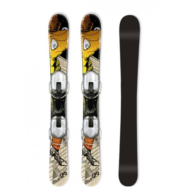 GPO Fire 90cm Lyže Snowblade