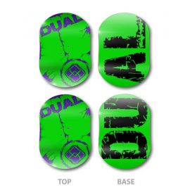 Dual Snowboards Green Base